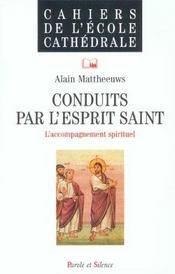 Conduits Par L'Esprit Saint N52 - Accompagnement Spirituel - Intérieur - Format classique