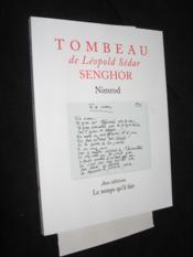 Tombeau De L. S. Senghor - Couverture - Format classique