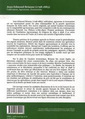Jean-edmond briaune - 4ème de couverture - Format classique
