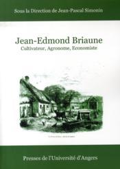 Jean-edmond briaune - Couverture - Format classique