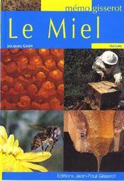 Le miel - Couverture - Format classique