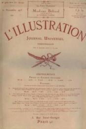 L'illustration. journal hebdomadaire universel. n°4316, 83me année, 21 novembre 1925 - Couverture - Format classique