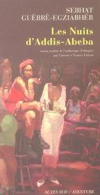 Les Nuits D'Addis-Abeba - Intérieur - Format classique