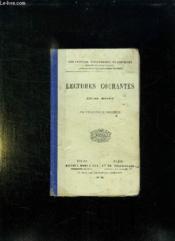 Lectures Courantes Cours Moyen. - Couverture - Format classique