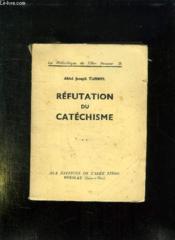 Refutation Du Catechisme. - Couverture - Format classique