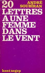 20 Lettres A Une Femme Dans Le Vent - Couverture - Format classique