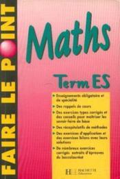 Mathematiques T°es - Couverture - Format classique