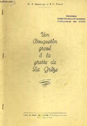 Un Bouquetin Grave A La Grotte De La Greze. Extrait Du Bulletin De La Societe Prehistorique Francaise Lii - N° 5 - 6 - 1955 - Couverture - Format classique