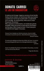 Le chuchoteur t.4 ; le jeu du chuchoteur - 4ème de couverture - Format classique