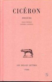 Discours t.14 - Couverture - Format classique
