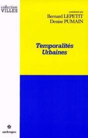 Temporalites Urbaines - Couverture - Format classique