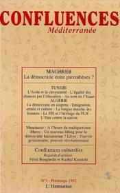 Maghreb, la democratie entreparenthèses ? - Couverture - Format classique