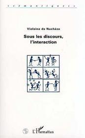 Sous Les Discours, L'Interaction - Intérieur - Format classique