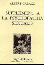 Supplement La Psychopathia Sexualis - Couverture - Format classique