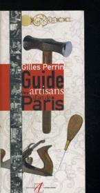 Guide des artisans d'art de Paris - Couverture - Format classique