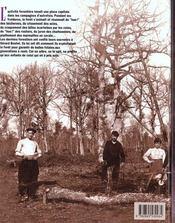 Les forestiers, vieux metiers des taillis et des futaies - 4ème de couverture - Format classique