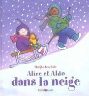 Alice et Aldo dans la neige - Intérieur - Format classique