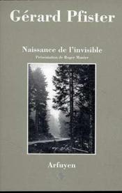 Naissance de l'invisible - Couverture - Format classique