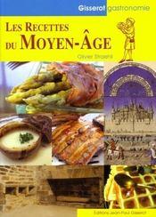 Les recettes du moyen-âge - Couverture - Format classique