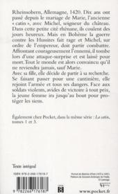 La catin t.2 ; la châtelaine - 4ème de couverture - Format classique