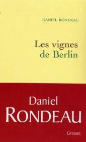 Les vignes de Berlin - Couverture - Format classique