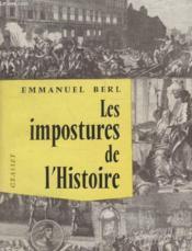 Les Impostures De Lhistoire. - Couverture - Format classique