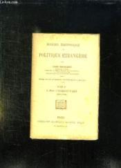 MANUEL HISTORIQUE DE POLITIQUE ETRANGERE TOME 1: LES ORIGINES 1610 - 1789. 13em EDITION. - Couverture - Format classique