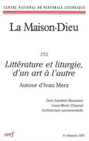 Revue La Maison-Dieu N.252 - Couverture - Format classique