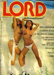 Lord International N°3 - Eddie Constantine A L'Ecoute De Dani - Le Milliardaire Cabaret - Les Confidences D'Une Barmaid... - Couverture - Format classique
