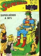 Superman Et Batman Et Robin N°27 - Couverture - Format classique