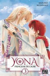 Yona, Princesse De L'Aube T.3 - Couverture - Format classique