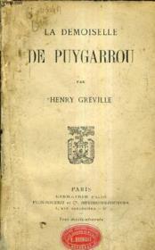 La Demoiselle De Puygarrou. - Couverture - Format classique