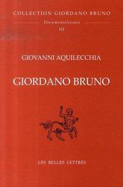 Giordano bruno - Intérieur - Format classique