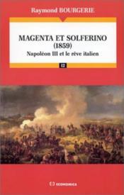 Magenta Et Solferino (1859) - Couverture - Format classique