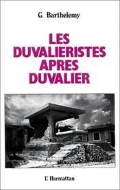 Le duvalieristes après Duvalier - Couverture - Format classique