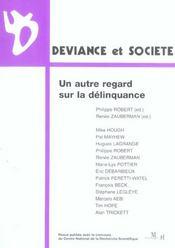 Un Autre Regard Sur La Delinquance - Intérieur - Format classique