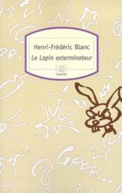 Le lapin exterminateur - Couverture - Format classique