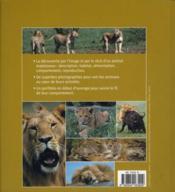 Le lion - 4ème de couverture - Format classique