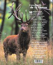 L'Encyclopedie De La Chasse - 4ème de couverture - Format classique