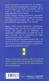 Seuil de la verite (au) - 4ème de couverture - Format classique