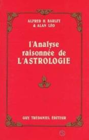Analyse Raisonnee De L'Astrologie - Couverture - Format classique