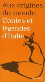 Contes et légendes d'italie - Couverture - Format classique