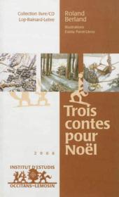 Tres contes per nadau / trois contes pour noel - Couverture - Format classique
