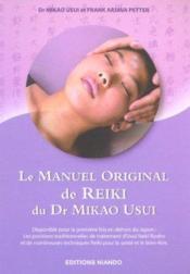 Le manuel original de reiki du Dr Mikao Usui - Couverture - Format classique