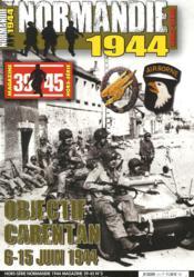 Objectif Carentan ; 6-15 juin 1944 - Couverture - Format classique