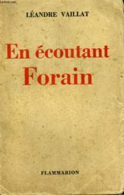 En Ecoutant Forain. - Couverture - Format classique