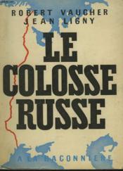 Le Colosse Russe - Couverture - Format classique