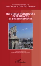 Reformes publiques : expériences et enseignements - Couverture - Format classique