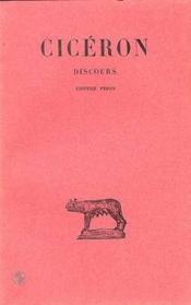 Discours t16 (1partie) - Couverture - Format classique