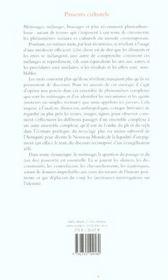 Passeurs Culturels. Mecanismes De Metissage - 4ème de couverture - Format classique